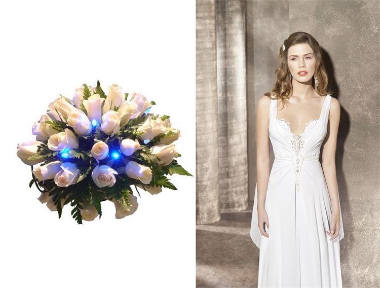 הכי יפה עם השמלה: זר כלה 1