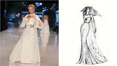 קולקצית 2013: מסקיצה לשמלה