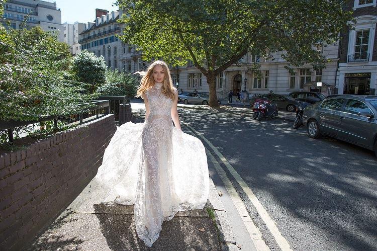 ריקי דלאל 2017: שמלות כלה נשיות 1